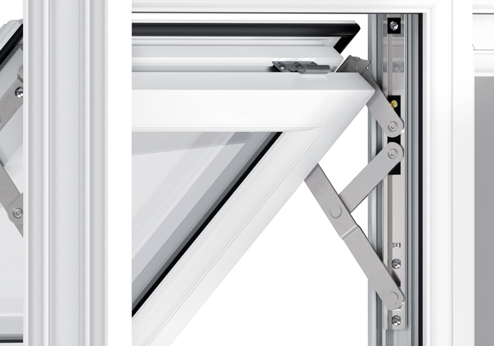 Upvc window 3 double glazing manufacturing for 2m french doors